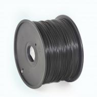 Filament Gembird ABS Black   1,75mm   1kg 3DP-ABS1.75-01-BK
