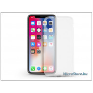 Ultra Slim Apple iPhone X Ultra Slim 0.3 mm szilikon hátlap tok, átlátszó
