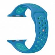 Apple watch szilikon óraszíj, Kék CEL-STRAP-APPLE-BLGR