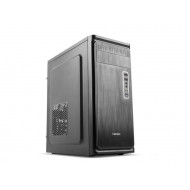 Natec Office PC case Armadillo, black NPC-0855