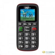 Maxcom MM428BB DualSIM mobiltelefon extra nagy gombokkal, vészhívóval (fekete) MM428BB