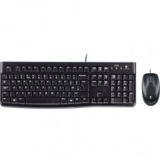LOGITECH MK120 USB billentyűzet + egér Black  Black.USB.HUN 920-002542