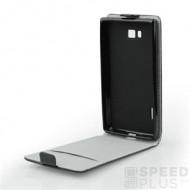 Flip szilikon belső Flip tok szilikon belsővel, Nokia 9, fekete