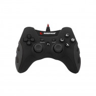 Rampage Gamepad - SG-R218 Black (USB, 1,8m kábel, PC és PS3 kompatibilis, fekete)
