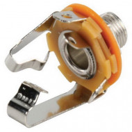 Valueline 6.35mm stereo jack female chassis socket