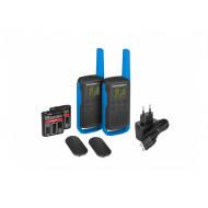 Motorola TLKR T62 Blue adó-vevő készülék 01-04-0977