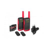 Motorola TLKR T62 Red adó-vevő készülék 01-04-0976