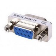 Valueline Mini-adapter 9p mannelijk - 9p female