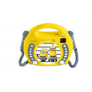 Lexibook RCDK100DES Despicable me CD player with microphones RCDK100DES