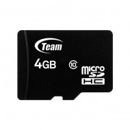 TeamGroup 4GB microSDHC Class 10 + adapterrel
