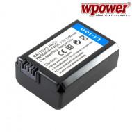 WPOWER Sony NP-FW50 akkumulátor 1500mAh, utángyártott DCSO0026-1500-LI-B
