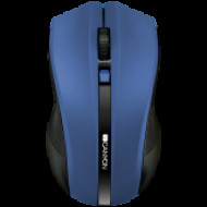 CANYON 2.4Ghz wireless Optical Mouse with 4 buttons, DPI 800/1200/1600,blue CNE-CMSW05BL