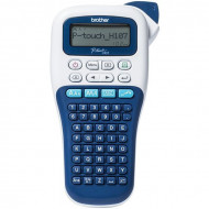 BROTHER Címkenyomtató PT-H107, kézi, thermál, 20mm/mp, ABC billenytűzet, TZe szalag 3,5-12mm PTH107BYJ1