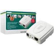 Digitus Fast Ethernet nyomtató szerver,USB, 1 x port DN-13003-2