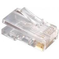 Gembird moduláris LAN csatlakozódugó (6u''), aranyozott PLUG3UP6/100