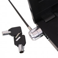 LINDY Notebook biztonsági kábel és billentyűzár