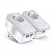 TP-Link TL-PA4022P Kit, AV600 Passthrough, 600Mbps Powerline Twin Pack TL-PA4022P KIT