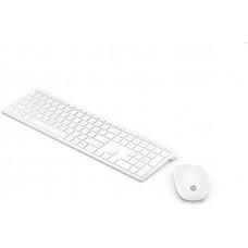 HP Vezeték nélküli Billentyűzet + Optikai egér Pavilion 800, fehér 4CF00AA#AKC