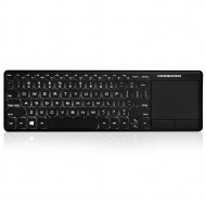 MODECOM TPK2 VOYAGER WIRELESS MULTIMEDIA SLIM KEYBOARD K-MC-TPK2-100-BL-HU K-MC-TPK2-100-BL-HU