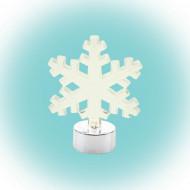 Somogyi LED-es Asztali dísz Hókristály figura meleg fehér /CDM 8/F/