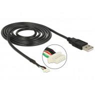 Delock Module Cable USB 2.0 A male  5 pin camera plug V5 1.5 m 95985