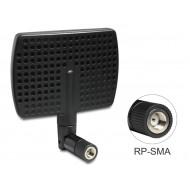 Delock WLAN antenna RP-SMA 802.11 a/b/g/n 5~7 dBi, irányítható csatlakozás 88447