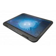 "Trust Ziva 16"" notebook hűtőpad fekete /21962/"