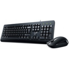 Genius KM-160 USB fekete billentyűzet+egér 31330001418