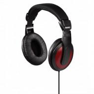 Hama HK-5618 vörös sztereó fejhallgató 184012