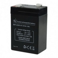 HQ Zselés akkumulátor 6 V 4 Ah