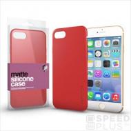 Xprotector Xprotector Matte, ultra vékony matt szilikon hátlap tok, Apple iPhone X/Xs, korallpiros