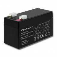 Qoltec Battery AGM | 12V | 1.3Ah | max.0.39A 53040