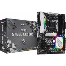 ASRock B450M STEEL LEGEND, AM4, DDR4 3533+, 4 SATA3, HDMI, DP, USB3.1 B450M STEEL LEGEND