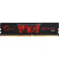 4GB/2400 DDR4 G.Skill Aegis F4-2400C15S-4GIS Fekete