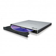 External DRW HLDS GP57ES40, Ultra Slim Portable, Silver GP57ES40.AHLE10B