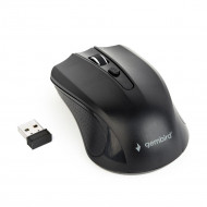 Gembird Wireless optical mouse MUSW-4B-04, 1600 DPI, nano USB, black MUSW-4B-04