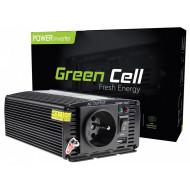 Feszültség átalakító Green Cell ® 12V - 230V, 300W/600W INV01