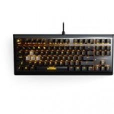 Steelseries M750 TKL PUBG USB angol gaming billentyűzet fekete 64726