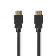 Nedis HDMI kábel HDMI csatlakozó - HDMI csatlakozó 1.5m fekete /CVGT34001BK15/