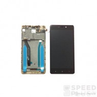 Xiaomi Xiaomi Redmi 4 Pro kompatibilis LCD modul kerettel, OEM jellegű, fekete
