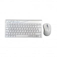 Rapoo 8000S Wireless Keyboard & Mouse Combo White 190803
