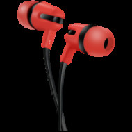 CANYON CANYON Stereo earphone with microphone, 1.2m flat cable, Red, 22*12*12mm, 0.013kg CNS-CEP4R