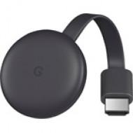Google ChromeCast 3 médialejátszó GA00439 BLACK