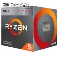 AMD Ryzen 5 3400G, 4C/8T, 4.2 GHz, 6 MB, AM4, 65W, 7nm, BOX YD3400C5FHBOX