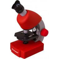 Bresser Junior 40x-640x mikroszkóp, piros EAN: 0611901514703