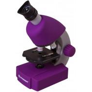 Bresser Junior 40x-640x mikroszkóp, lila EAN: 0611901514697