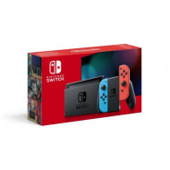 NINTENDO Switch 2019 HAC-001(-01) console with neon red&blue Joy-Con NSH006_NS_CONSOLE_NEON_RED_BLUE_JC 45496452629