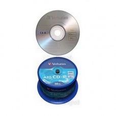 VERBATIM CD-R 700MB 52X AZO CRYSTAL CAKE*50  43343