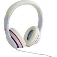 Fejhallgató, On Ear vezetékes HiFi fejhallgató, fehér színű Gembird Los Angeles On Ear MHS-LAX-W