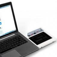 "SILVERSTONE TS08 9.5mm 2,5"" HDD/SSD - Slim ODD Slot adapter"
